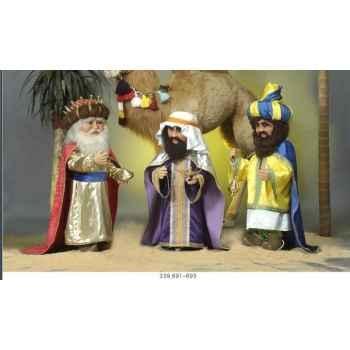 Automate - roi mage portant un turban Automate Décoration Noël 693