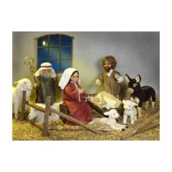 Automate - crèche - le berger avec sa houlette Automate Décoration Noël 697