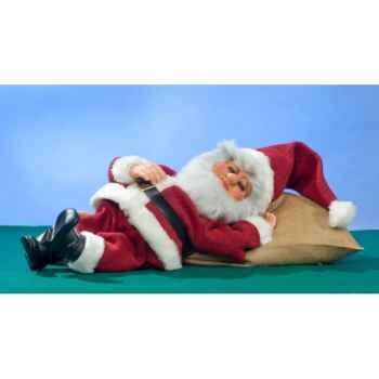 Automate - père-noël endormi Automate Décoration Noël 741