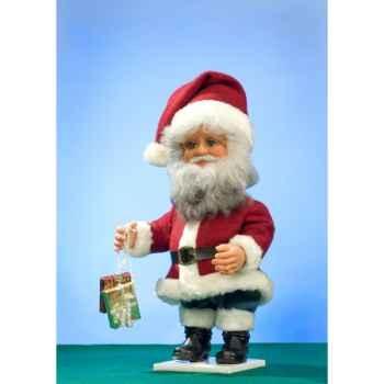 Automate - père noël avec cadeaux  Automate Décoration Noël 742