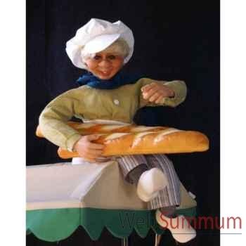 Automate - boulanger assis Automate Décoration Noël 763