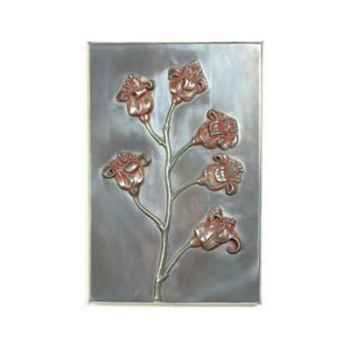 Décoration murale Poppy Wall Plaque, aluminium -bs2313alu