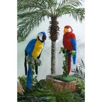 Automate - perroquet bleu et jaune Automate Décoration Noël 839