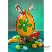 automate lapin de paques dans un oeuf automate decoration noe847