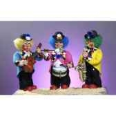 automate clown jouant du saxophone automate decoration noe169 b