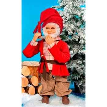 Automate - père-noël jouant de l'harmonica Automate Décoration Noël 184-A