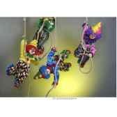 automate clown suspendu a la corde d une cloche automate decoration noe204 b