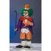 automate clown frappant a la fenetre automate decoration noe207 c