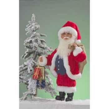 Automate - père-noël avec cadeaux et sac Automate Décoration Noël 300-1