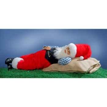 Automate - père-noël endormi Automate Décoration Noël 304-A