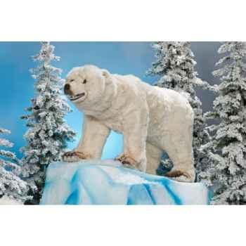 Automate - ours polaire parlant Automate Décoration Noël 334-S