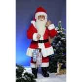 automate pere noeavec sac et cadeaux automate decoration noe411 a