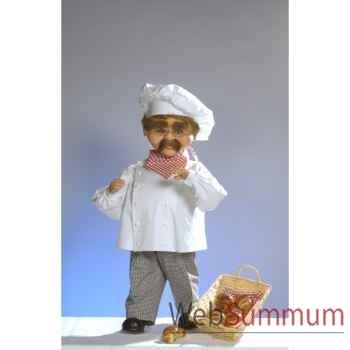 Automate - boulanger parlant  Automate Décoration Noël 556-BS