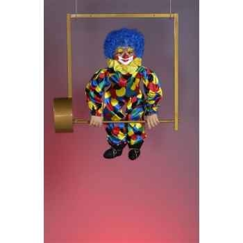 Automate - clown sur trapèze Automate Décoration Noël 56-B
