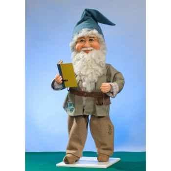 Automate - lutin du père-noël parlant Automate Décoration Noël 576-AS