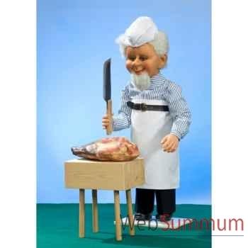Automate - boucher et planche à découper Automate Décoration Noël 615-B