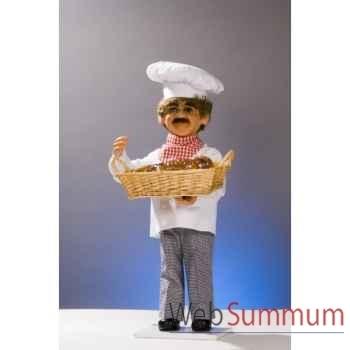 Automate - boulanger aux bretzels Automate Décoration Noël 619-B