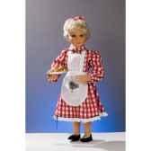 automate fillette chez le boulanger automate decoration noe627 b