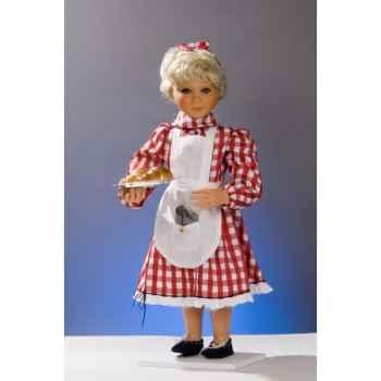 Automate - fillette chez le boulanger Automate Décoration Noël 627-B