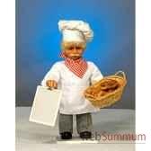 automate boulanger avec tableau et panier automate decoration noe637 b