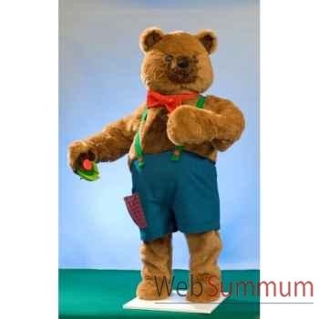 Automate - teddy bear, debout Automate Décoration Noël 846-B