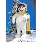 automate garcon en costume blanc debout automate decoration noe846 c