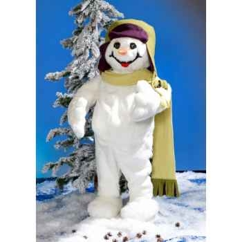 Automate - garçon en costume blanc, debout Automate Décoration Noël 846-C