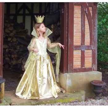 Costume Robe de Soleil Peau d'Ane 6ans complète