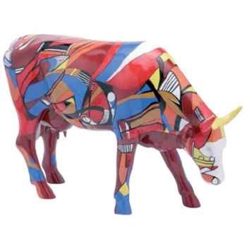 Cow Parade -Kansas City 2001, Artist Cathy Kenton - Psycodelicowwow-47303
