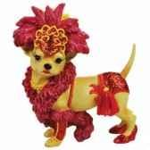 figurine chien chihuahua danseuse cabaret 13758