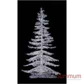 sapin de noegeant professionnecrystalumineux or led blanc chaud scintillant de 530m a 7m