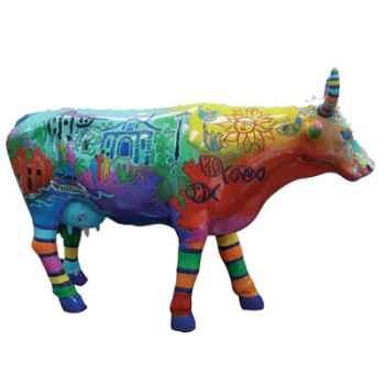 Cow Parade -San Antonio 2002, Artiste Bro. Cletus Behlmann, S.M. - Ala-moo Town-47351