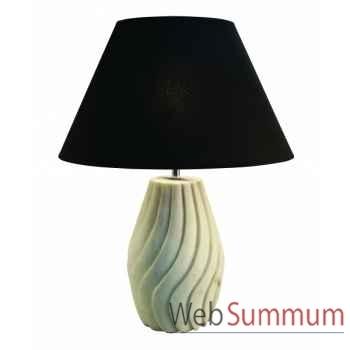 Pied de lampe marbre  Décoration Marine AMF MC285