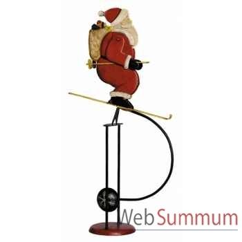 Père noël sur ski  Décoration Marine AMF TM066