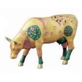 cow parade manchester 2004 artiste annabechurch smith klimt cow 47350