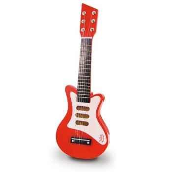 Guitare rock rouge vilac 8327