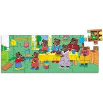 Puzzle anniversaire petit ours brun vilac 6002