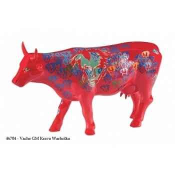 Vache grand modèle krava warholka gm CowParade 46704
