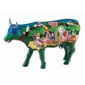 vache grand modele cow lice in the wonderlad gm cowparade 46709