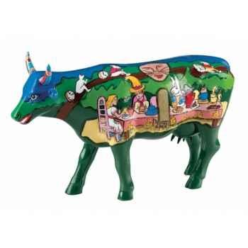 Vache grand modèle cow-lice in the wonderlad gm CowParade 46709