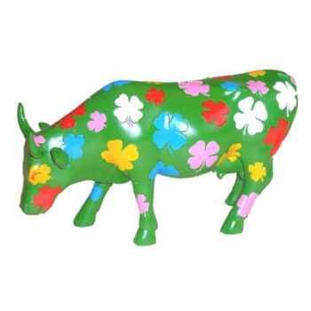 Cow Parade - Milan 2007 - Artiste Elio Fiorucci - Dreaming Clovers - 47746