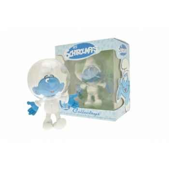 Figurine le cosmo schtroumpf  Plastoy 00165