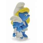 figurine la schtroumpfette avec son bebe plastoy 00167