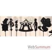 coffret 6 marionnettes a ombres pinocchio anima scena 23660