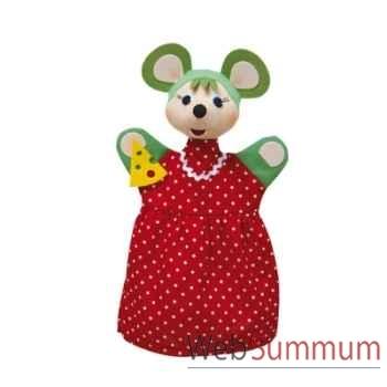 Marionnette à main animaux souris verte anima scéna 23035