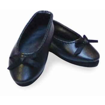 Ballerines noires taille 35 -39 -40cm Petitcollin 603978