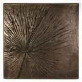 decoration murale anahaw walplaque bronze nouveau bs3235nb
