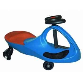 Voiture bleue kids-Car Roues silencieuses 40022