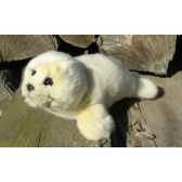 peluche phoque 23cm long ushuaia junior 108