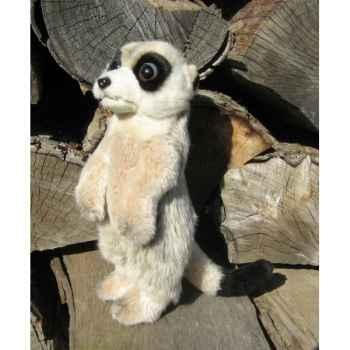 Peluche suricate dressé 24cm (haut)  Ushuaia Junior 209